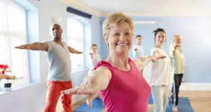 Silver Fit Seniors Exercise Class